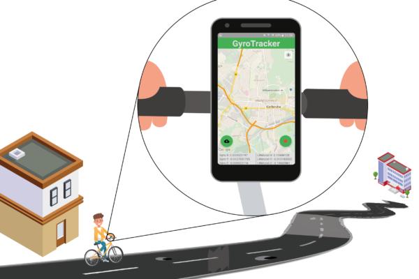 Radwegequalität mit dem Smartphone erfassen? … geht mit dem GyroTracker