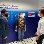 Unterstützung des Deutschen Zentrum Mobilität der Zukunft (DZM) auf der IAA Mobility